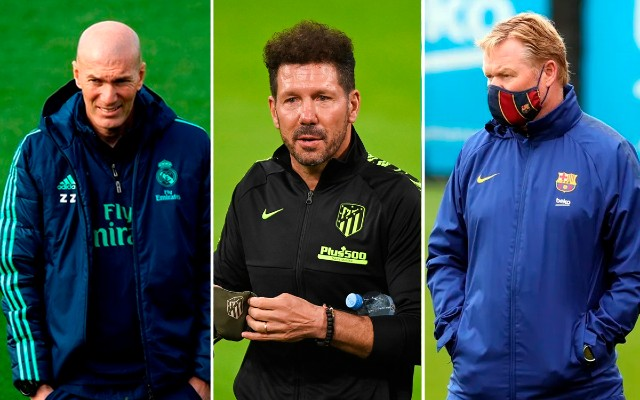 Real Madrid and Barcelona managers' futures in the air following Atletico Madrid title success