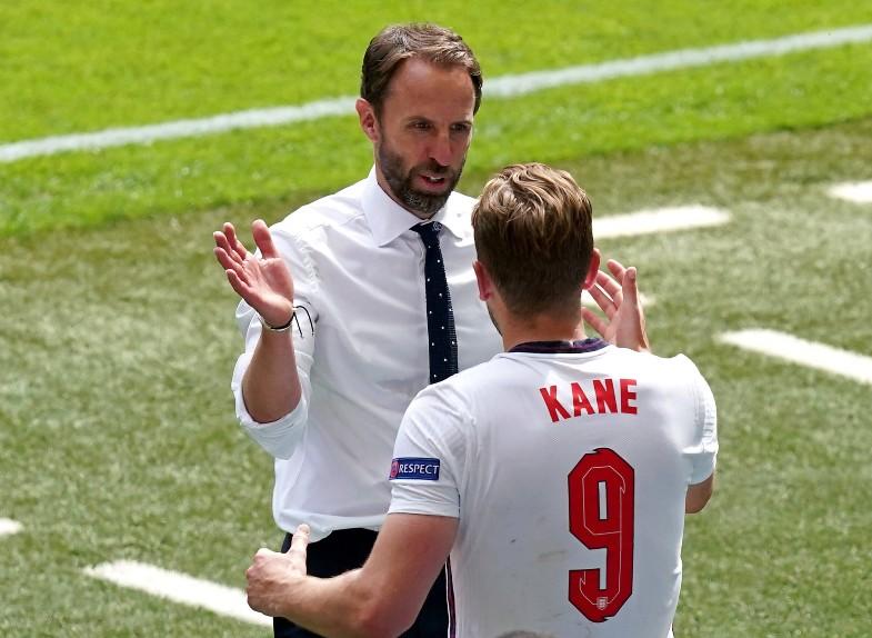 Southgate Kane England Euro 2020