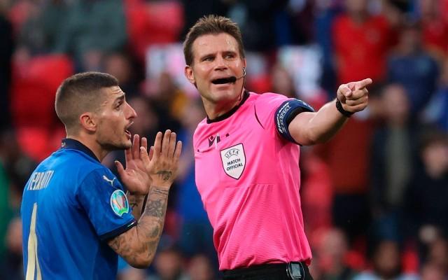 Marco Verratti on referee for Euro 2020 final