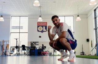 aouar in lyon training   Últimas Noticias Futbol Mundial