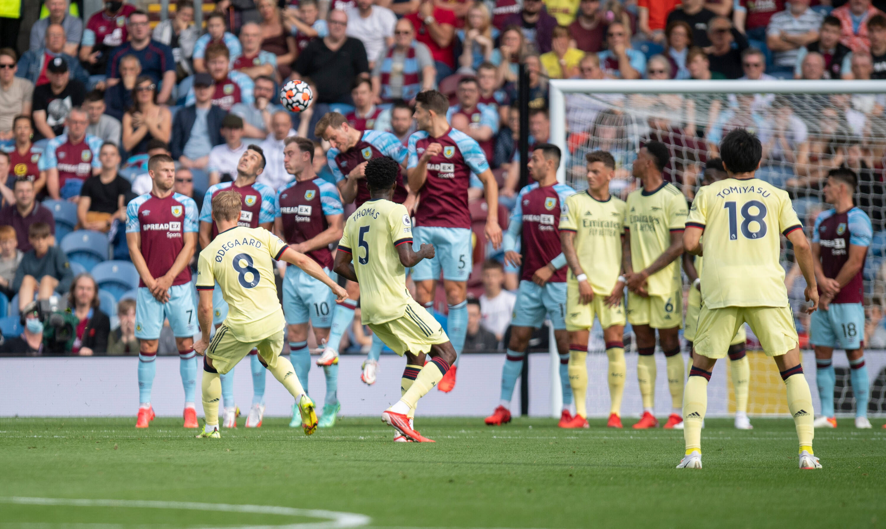 VIDEO: Highlights From Burnley 0 – 1 Arsenal Game