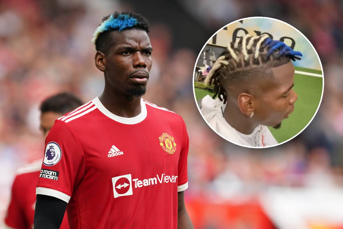 Paul Pogba unveils drastic change in hairstyle - video