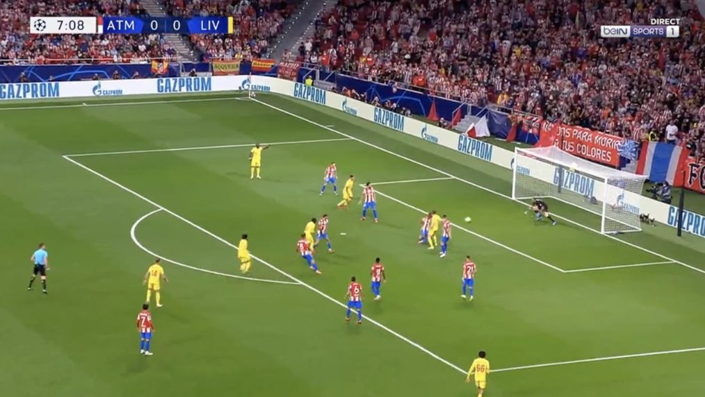 Video: Incredible Salah slaloms past Atletico defence to put Liverpool one up
